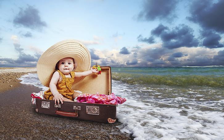 Как подготовиться к путешествию с маленькими детьми
